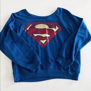DC superwoman sweatshirt XL